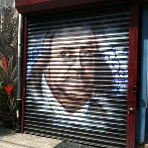 Ben Franklin garage door