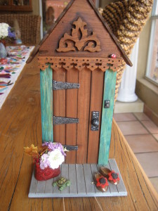 Fairy Door by Elizabeth Mericas