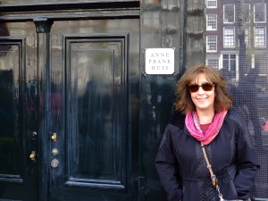 This is the closest we could get to Anne Franks House.  Need reservations in weeks in advance.