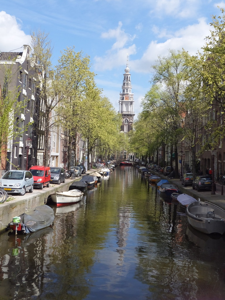 picture perfect canal scene