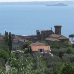 Lake Bolsena from above
