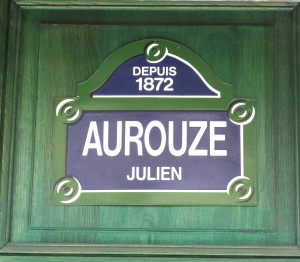 Aurouze in Paris